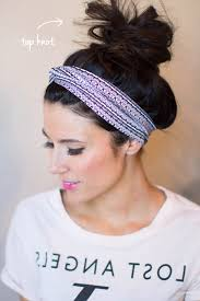 top knot headband headband 4 ways giveaway hello fashion