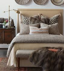 Faux Fur Duvet Cover Luxury Bedding By Eastern Accents Naya Collection