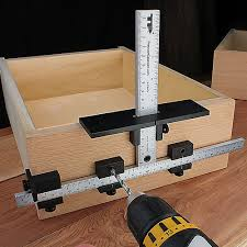cabinet hardware drilling jig true position 1934 hardware drilling jig drill jigs pinterest
