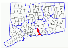 connecticut on map maps ct