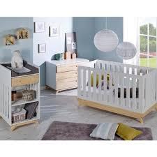 lit pour chambre chambre complete de bébé en lit cher nature moderne decoration blanc