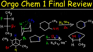 organic chemistry 1 final exam review study guide multiple choice