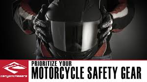 how to prioritize motorcycle safety gear youtube