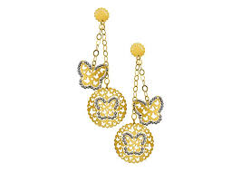 d damas gold earrings farfasha damas brands