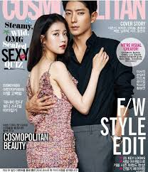 cosmopolitan iu draws jealously after featuring with korea u0027s top flower boys in