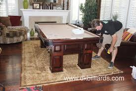 American Heritage Pool Tables American Heritage Broken Down Dk Billiards U0026 Service Orange