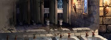 moaning myrtle u0027s bathroom harry potter wiki fandom powered by