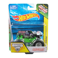wheels monster jam grave digger truck 1 64 scale vehicle