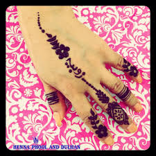 how to include your name in a henna design