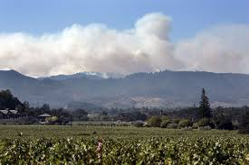 North Bay Fire Control District by Napa Sonoma Fires To Continue Harming Air Quality Through Weekend