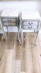 Vintage Nightstands Gorgeous Vintage French Nightstands With Dovetailed Drawers