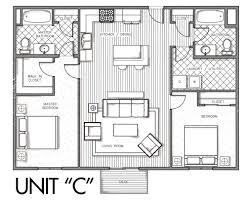 floor plans available units la riviere condos cedar falls unit c