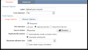 uploading files and images caspio online help