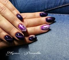 chrome and tiger eye effects on nails http www crystalnails com