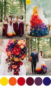 wedding color schemes the 25 best sunset wedding theme ideas on gold