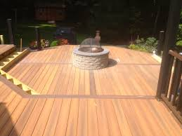 marc u0027s deck u0026 patio sunken firepit u2013 3 marcs deck u0026 patio