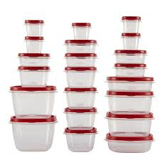 Gift Wrap Storage Containers Rubbermaid Amazon Com Rubbermaid Easy Find Lid 42 Piece Food Storage