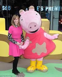 Peppa Pig Halloween Costume Kate Garraway Hams Pink Dress Peppa Pig Premiere