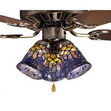 glass light covers for ceiling fans ceiling fan fitter shades you ll love wayfair