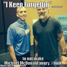 Incredible Meme - michael mcdonald is the incredible hulk quickmeme