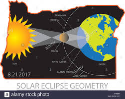 2017 solar eclipse totality across oregon state cities map color