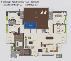 planet sks 4 bedroom apartment 6600 sft