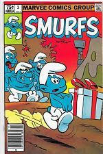 black smurf smurf comic covers