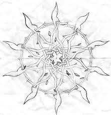 vines and thorns sketch by midnightlynx on deviantart