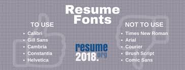 What Size Font For Resume Which Is The Font Used By Most Iitians In Their Resumes Updated