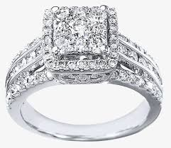 square diamonds rings images Invisible set diamond rings wedding promise diamond jpg