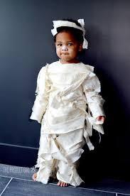 Mummy Halloween Costumes Girls Diy Glue Mummy Costume Jenallyson Project Fun