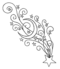 star coloring page great charming christmas tree star coloring