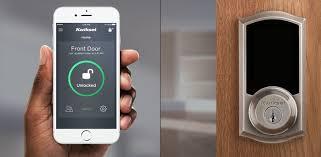 premis touchscreen door lock apple homekit smart locks kwikset