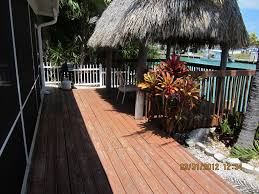 tiki too key colony canalfront screened vrbo