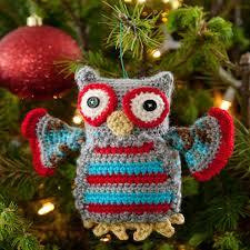 hoot owl ornament