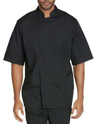 chef coats for men cotton thermometer pockets dickies