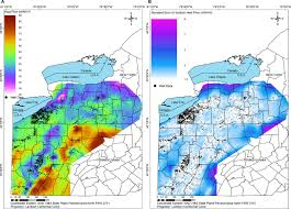 Map Of Pennsylvania And New York by Geothermal Energy Characterization In The Appalachian Basin Of New