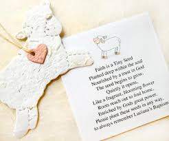 seed paper wedding favors 10 baptism favors seed paper lambs plantable lambs flower