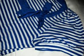 I Ve Got A Nautical Themed Pashmina Afghan Fashionable People Questionable Things Nautical Stripe Challenge