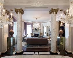 dark interior home project rich elegant apartment in france with dark interior