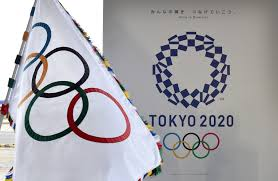 Olimpics Flag Olympic Flag Arrives In Tokyo For 2020 Games