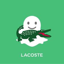lacoste majuscule lacoste cache des crocodiles sur snapchat emailing et interet