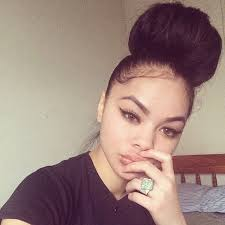 pics of black pretty big hair buns with added hair 17 best buns fa da hair images on pinterest chignons buns and