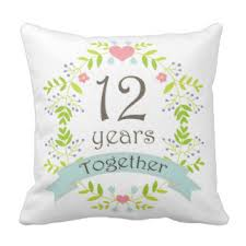 12 year anniversary gift for 12 year wedding anniversary gifts t shirts posters other