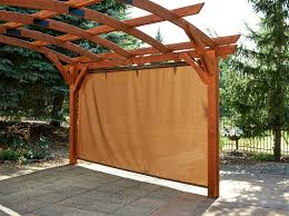 Pergola Coverings For Rain by Pergola Shade Sonoma 16 Ft Pull Down Sonoma16 Wall Sunshade