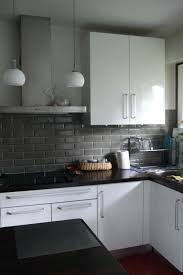 faience cuisine design carrelage mural cuisine et blanc cethosia me