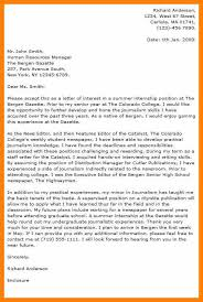 4 cover letter journalism example report examples