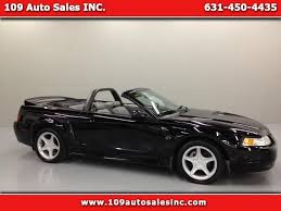 Black Mustang Gt Convertible For Sale Ford Mustang 2000 In Lindenhurst Copiague Amityville Ny 109