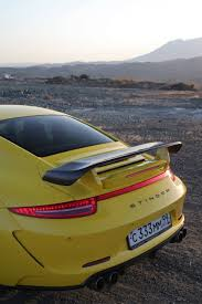 porsche 911 stinger yellow porsche 911 stinger by topcar hits marbella autoevolution