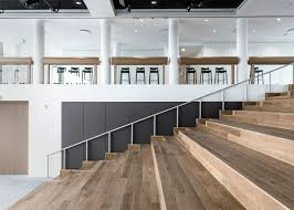 revamped sea containers house features open plan offices sea